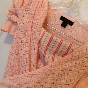 Tops - Pretty in Pink Lightweight Wrap Sweater